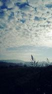 11月の高瀬の空。